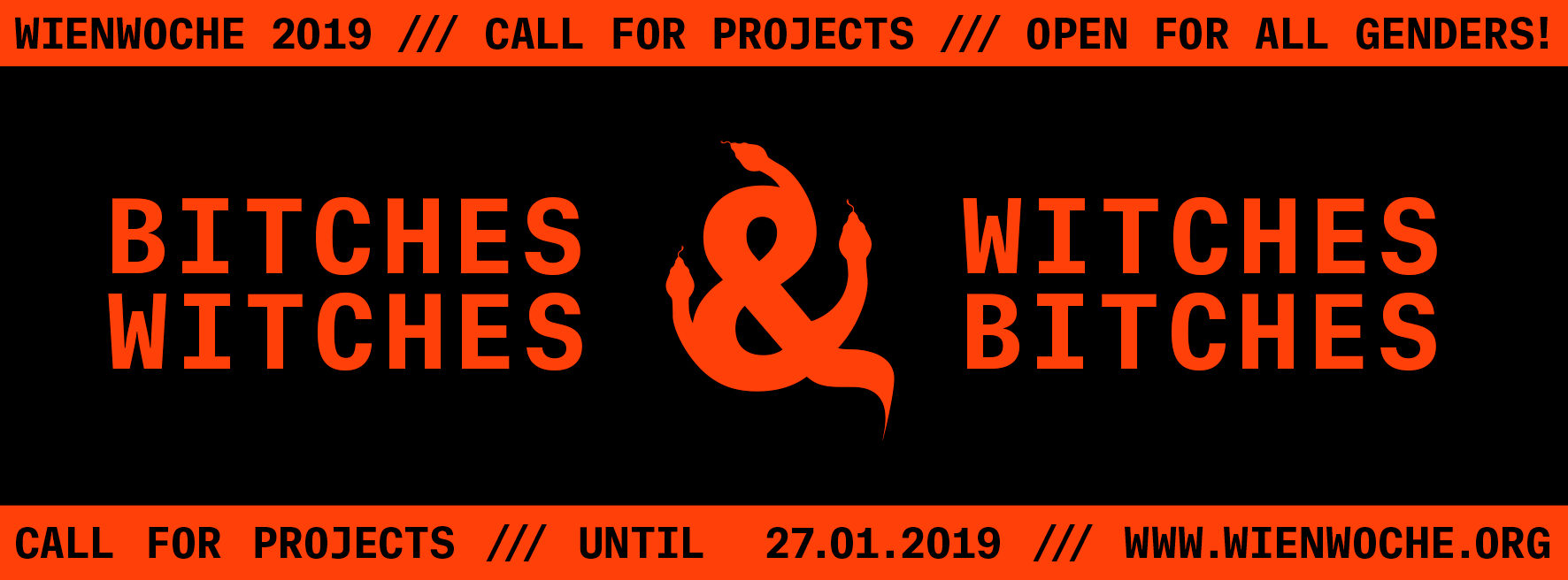 WIENWOCHE 2019 Open Call Banner (C) Esther Straganz